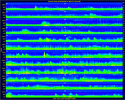 spectrogram from Pasture Wash